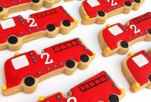ιδέες για παιδικό πάρτυ - πυροσβέστης! / Πάρτι για αγόρια με θέμα τον πυροσβέστη!