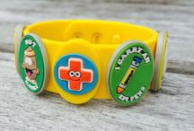 Charming Medic Alert :) / We think that medical health awareness can be quite charming for kids!