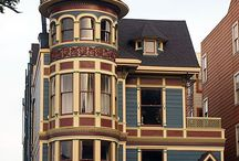 Victorian style homes/ Painted Lady / by Milenka P-Crnkovic