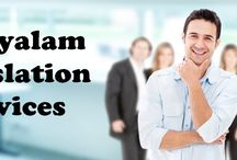 Malayalam Translation Services Provider / TridIndia Translations is the leading language translation services and interpretation services provider in India providing quality Malayalam Translator