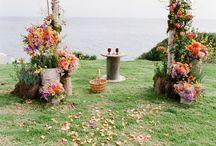 Bryllup dekorasjon
