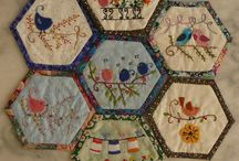 Hexi with embroidery