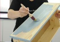 Paint wood - verniciare legno