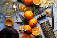 Orange / This citrusy fruit is filled with antioxidants, vitamins and minerals to keep you both happy and healthy