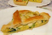 crostata zucchine tonno e patate