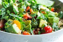 Quinoa salades