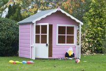 Love your outdoor space / Whether it be a playhouse for your little ones, or a storage shed for your big ones, start your unloved garden transformation with one of these today! / by B&Q