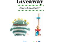PlanToys & The Haywire Group Product Giveaway / Product Giveaway for a chance to win some award-winning games and toys from PlanToys and The Haywire Group. Comment with #playforfunnottoworry and win a prize!