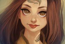 Personagens / Desenhos