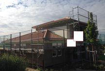 Projekt Rheinhessische Toskana / Es wird ein EFH installiert mit folgenden kleinen Features. ==> RWE Smarthome-Anlage ==> Alarmanlage ==> Die Leuchhten wurden in die Betondecke eingelassen. Nachteil: Wir führen hier leider kein SHK Gewek aus ;-)