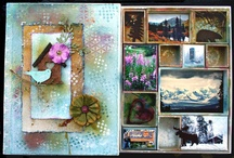 Tim Holtz Mixed Media projects 2013-2015 / Tim Holtz, Ranger, Sizzix and Stamper's Anonymous products used to created mixed media projects including mini albums, folios, canvases, clocks, and such. #timholtz #ranger #ideaology #sizzix #stampersanonymous #mixedmedia / by Theresa Petermann