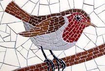 Birds mozaic