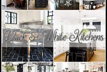 Black & White Kitchen Inspiration / by The Cottage Market