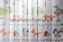 Gordijnen voor de baby en peuter kamer / Kinderkamer gordijnen voor jongens en meisjes