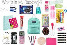Идеи для школьной сумки