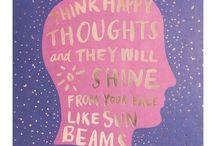 Happy Things / positivity