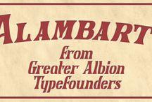Alambart Font Download