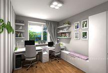 Projekt wnętrza biura / Office interior design