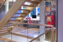 Glass Panel Railings / Modern Glass Panel Railings by Vision Stairways
