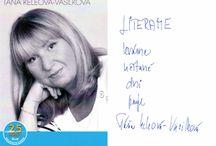 Podpiskarty / Autogramy spisovateľov, s ktorými sme sa streli a venovali nám svoj podpis a želanie.