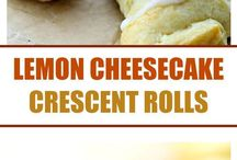 Lemon cheesecake crescent s