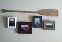 Декор весла