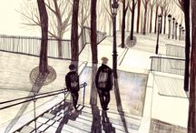 Drawings / by Claudia Giraud