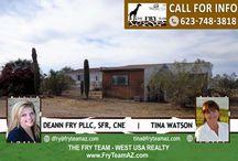 SOLD! Estrella Dells Acre Property in Buckeye / 19813 W Teepee Road, Buckeye, AZ 85326