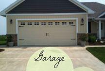 DIY Garage Door Tips / Here are some tips and tricks to keep up your garage door!