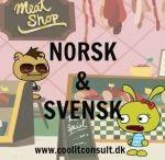 Norwegian Swedish Danish