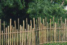rustic fencing