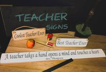teacher gift signs