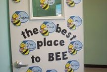 Classroom theme: bee / First or second grade theme