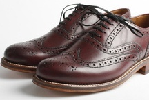 Grenson / Quality mens leather shoes. Hand crafted fine English shoes.