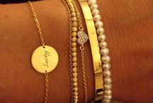 Jewellery // Arm Candy / Bracelets and bangles. The more the better.