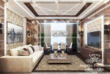 Дизайн интерьера квартиры в стиле Ар Деко в ЖК Династия / Дизайн квартиры в ЖК «Династия» выполнен для комфортной жизни людей с хорошим вкусом.  В основе дизайнерской концепции дома лежит направление Ар-Деко. Кухня и столовая соединена с гостиной, это увеличивает свободное пространство для жильцов. Сочетание бежевого, белого, коричневого и серого цвета создают особую статность.