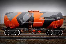 Marquage de trains remarquables - beautiful train wraps / - Vous trouverez dans ce tableau un #bestof de #marquage de #train du monde entier  - Inspirationnal #train #wraps from around the world