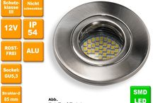 Einbauspots für Bad & Dusche / 12 oder 230V Einbaustrahler für Bad, Dusche, Nass- und Außenbereich. Wahlweise mit LED- oder Halogenleuchtmittel. Alle Einbaustrahler sind auch als Set erhältlich. www.dreamlights2000-halogen.de