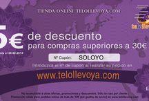 Tester Productos de TeLoLlevoYa / En este tablero voy a ir poniendo los productos que he probado, o probaré de TeLoLlevoYa, en el blog veris las reseñas de los productos.