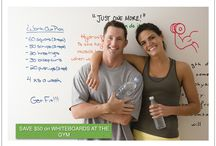 Whiteboards at the Gym / $50 off Whiteboard Paint