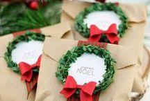bolsas con cinta navideña