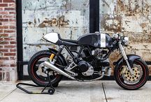Brat and Cafe Racers