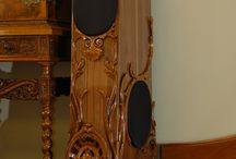 Wood Carving Speaker