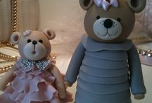 Teddy Love at Cake Couture / Too good to eat teddy bears