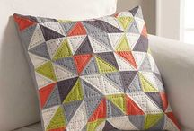Patchwork vzory - half square