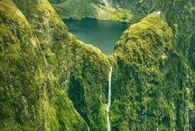 Favorite Places & Spaces / Holly guacamolle ... that is what I call a lake with a watterfall