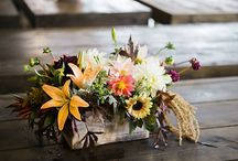 Reception Decor by Pine State Flowers