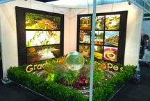 Garden Shows & Publications / Garden Shows and publications (magazines) that include one of my Aqualens Sphere Fountains as a feature or centerpiece.