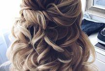 wedding: hairstyles