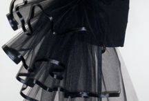 BLACK THEATRAL DRESS